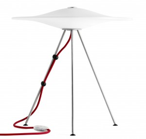 Sinuslampen. Foto: piethein-designshop.dk
